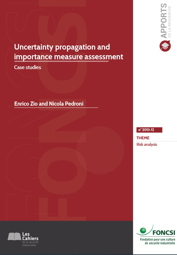 Uncertainty propagation and importance measure assessment: case studies