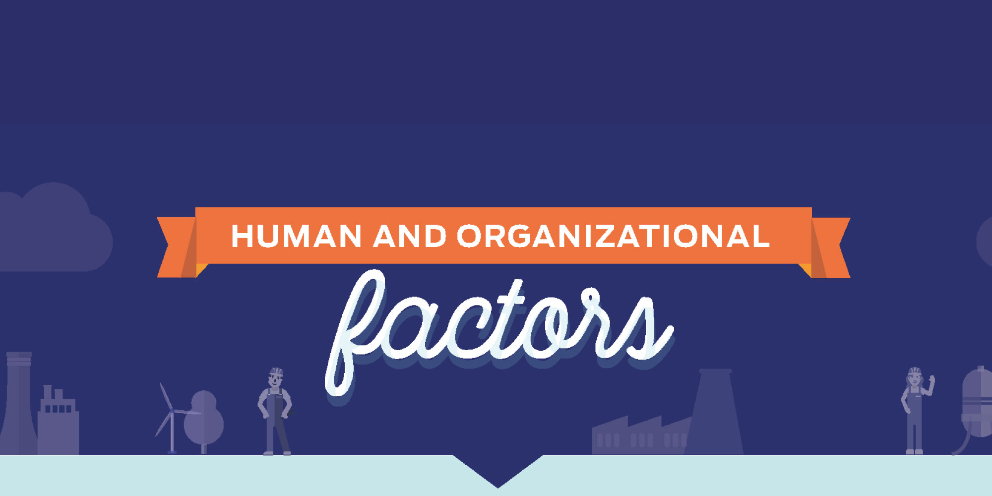 Infographic: human and organizational factors