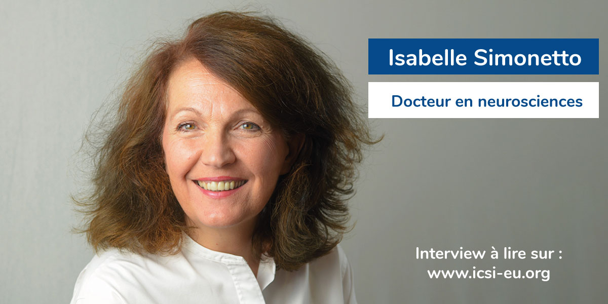 Isabelle Simonetto, docteur en neurosciences